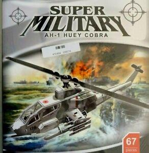 3d Puzzle 67 Pieces AH-1 Huey Cobra
