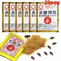 Cockroach Killing Bait Powder Repeller Trap Anti Pest Pest Control Product 20PCS