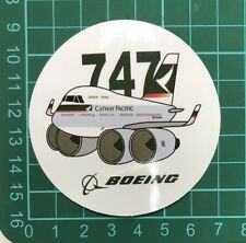 Cathay Pacific Boeing 747 Sticker (1 PC) About 7 cm (2.75'')