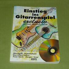 Einstieg ins Gitarrenspiel exclusiv (ohne Audio CD) Dietrich Kessler KDM – Top!