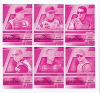 2014 Redline MAGENTA PARALLEL #3 Aric Almirola BV$20+! #02/10! SUPER SCARCE!
