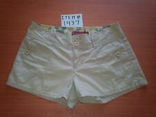 WOMENS SO REAL SO RIGHT BEIGE SHORTS SIZE 7 ITEM # 1437
