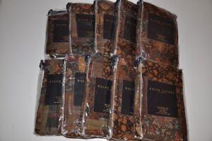 Ralph Lauren Home Fairbridge Patchwork 100% Silk Standard Pillow Sham 3