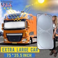 Jumbo Foldable Reflective Auto Visor Car/SUV/Truck/Van UV Front Window Sun Shade