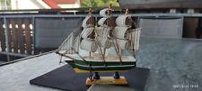 Holz-Modell-Segelschiff Handarbeit Unikat echt selten + schön, sehr detailliert*