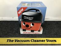 Henry Hoover, Numatic Compact Cylinder Vacuum Cleaner - Red (HVR160)