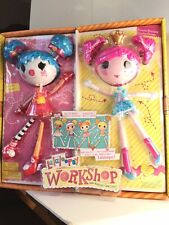 Lalaloopsy Workshop Twin Pack Mix 'n Match Clown & Princess NEW in Original Pkg.
