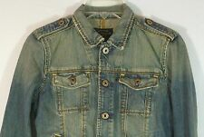 Girls Polo Jeans Co. Jean Jacket Size Small G to Vgc! Clean! Intl Welcome!