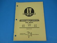 I & T Shop Service Manual # MF-10 Models MF303 MF404 MF406 Massey -Ferguson M851