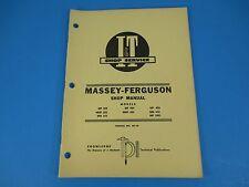 I & T Shop Service Manual # MF-10 Models MF303 MF404 MF406 Massey -Ferguson M851