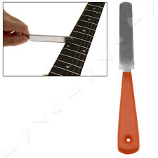 Gitarre 182mm Bundfeile Fret File Werkzeug Gitarrenteile Schmal Dual Cutter