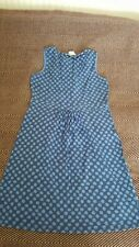 BODEN WOMENS BLUE COTTON/MODAL DRESS SIZE 12R