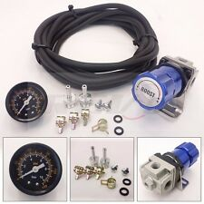 BLUE T2 UNIVERSAL ADJUSTABLE MANUAL TURBO BOOST CONTROLLER 1-30 PSI RACING JDM