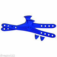 Oceanic/ Aeris Accel Replacement Straps Scuba Fin Color Kit Blue