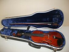 Vintage  1985  3/4  Violin  with  Bow  &  Case  Lot # RO.