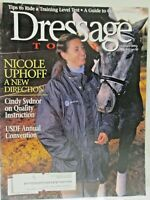 Dressage Today Magazine February 2001 Training Horses Tips Guide To Competition