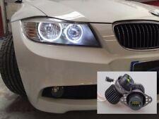 BRIGHTEST 64W LED Angel Eye Halo Ring Marker Light Bulbs Upgrade E90 E70 Lights