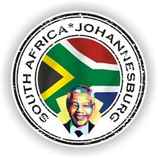 Seal Sticker of South Africa Johannesburg Nelson Mandela Stamp Bumper PC Car