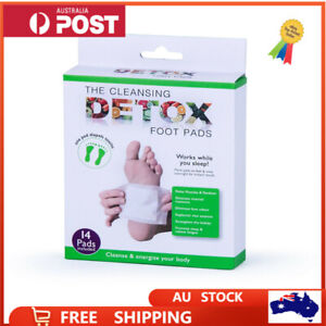 14 Pcs Cleansing Detox Toxin Foot Patch Pad Herbal Removal Adhensive Loss Weight