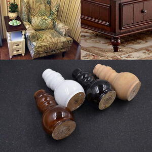 1 Pc Wooden Furniture Leg Accessories Feet For Sofa Chair Shttee Replacement