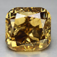 Video! 1.04 Ct 100% Untreated Natural Superb Fancy Yellow Brown Diamond