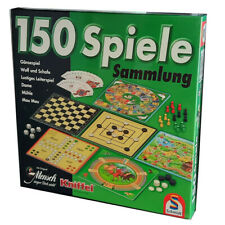 Schmidt Spielesammlung 150 Spiele Spielmöglichkeiten Mensch-ärgere-dich-nicht