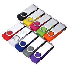 Swivel 1-512MB 1GB-32GB USB 2.0 Flash Drive Memory Stick Thumb Pen Disk Lot Gift
