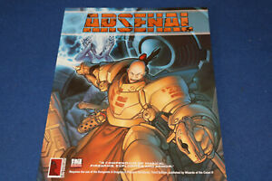 Perpetrated Press - ARSENAL d20 System Weapons Guide Sourcebook -RPG BOOK