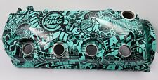 honda civic  valve cover d16y8 custom hydro dipped, MINT BUILT NOT BOUGHT  jdm