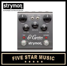 STRYMON EL CAPISTAN TAPE ECHO GUITAR EFFECTS PEDAL STR-ELCAPISTAN - NEW IN BOX