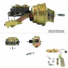 "1968-74 Chevy Nova FW Mount Power 7"" Single Brake Booster Kit LS Swap Disc/Drum"