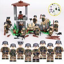*Us Seller* Ww2 German Custom Military Army Soldier Figures Building Block Set