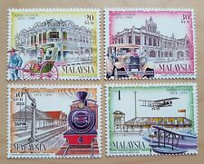 1999 Malaysia 125 Years Taiping Classical Transportation Car Train 4v Stamps Set