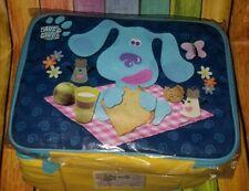 Nwt Blues Clues Lunch Box Soft Insulated Factory plastic Mr Salt Mrs Pepper