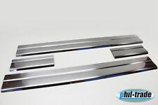 Einstiegsleisten Ford Mondeo 4 Edelstahl Schwellerleisten Abkantung ab 06.2007>