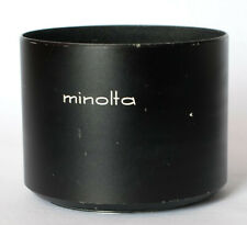 Minolta screw in metal lens hood to fit 100-200 f5.6 lens.