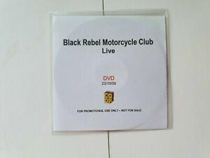 BLACK REBEL MOTORCYCLE CLUB BRMC DVD PROMO LIVE