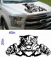 40in TIGER decal fit FORD Mustang F150 F250 F350 Raptor 2018 2017 2016 2015 2014
