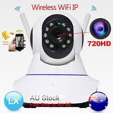 Wireless HD CCTV Security Night Vision IP PTZ Camera WiFi smart home 720p 1MP