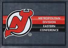 16/17 PANINI NHL STICKER TEAM LOGO #110 NEW JERSEY DEVILS *24775