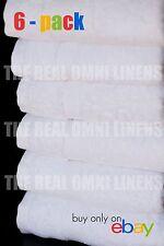 Luxury Hotel & Spa Towel Premium Cotton White, Hand Towel - Set of 6