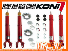 FORD FALCON EA EB ED EF EL SEDAN KONI ADJUSTABLE F & R SHOCK ABSORBERS