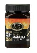 Pure Gold Manuka Honey MGO 525+, 500g