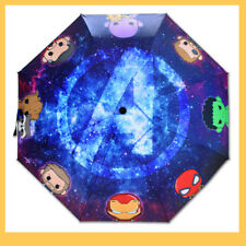US!Marvel Infinity War The Avenger High Quality Folding Rain Sun Umbrella 8 Ribs