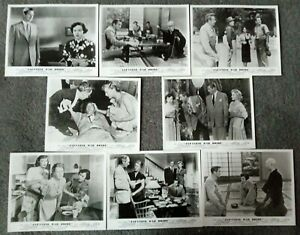 SET OF 8 ORIGINAL LOBBY CARDS JAPANESE WAR BRIDE Shirley Yamaguchi
