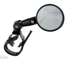 Handlebar Mirror M-Wave 3D Adjustable Bicycle Bike Black