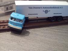 "Brekina DAF DO 2000 Koffer-Sattelzug "" Van Doorne Niederland""1:87  mit OVP 85201"
