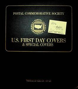 Postal Commemorative Society US First Day Covers - 61 Sheet in Binder 1976-79