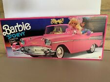 Vintage Barbie '57 Chevy Bel Air Convertible~1957 Chevrolet~Pink~NEW!