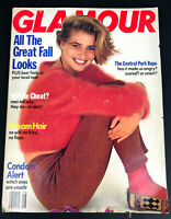 Glamour Magazine Cathy Fedoruk Cover August 1989